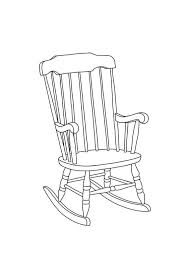 rocking chair drawing. Interesting Drawing Rocking Chair Linear Line Hand Drawing A6 By TheColourStudyShop In Drawing Pinterest