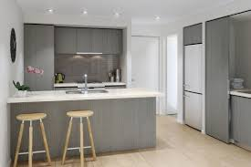 image of gray cabinets what color walls contemporary