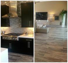 Kitchen And Dining Room Flooring Tiletuesday Features A Fabulous Modern Install Using Our Modena