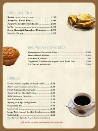 Breakfast Menu Template Breakfast Menu Template Oninstall 6