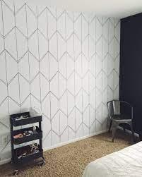 Wallpaper accent wall bathroom ...