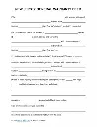 new jersey deed form new jersey general warranty deed form deed forms deed forms
