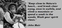 John Muir on Pinterest | John Muir Quotes, Wilderness and Nature via Relatably.com