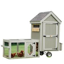 Chicken Coop Designs For 6 Hens Little Cottage Co 4x4 Colonial Gable Run Coop With Wheels 5