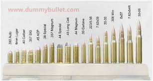 Handgun Caliber Chart Smallest To Largest 75 Thorough Ammo Caliber Size Chart