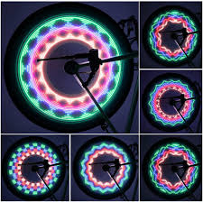 New Arrival Colorful <b>Bicycle Lights Bike Cycling</b> Wheel Spoke Light ...