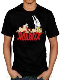 Shirtpunch Size Chart Official Asterix Nosey T Shirt Punch Cartoon Magic Potion Magnifier Character