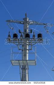 pole mounted transformer stock images, royalty free images Power Pole Transformer Wiring new electric pole connect to the high voltage electric wires on blue sky background detail Pole Transformer Wiring Diagrams