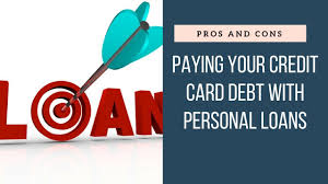 Loan To Payoff Credit Cards Pros And Cons Personal Loan To Pay Off Credit Card Debt Youtube