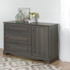 gray kids dresser. Interesting Kids South Shore Savannah 3Drawer Gray Maple Dresser And Kids S