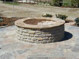 astounding backyard decoration by building fire pit inspiring outdoor living space design ideas using round brick brick fire pit grill round