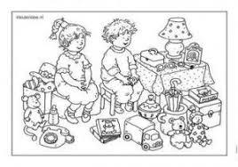 Speelgoed Kleurplaat Kleuters Dagmar Stam Groep 1 En Groep 2