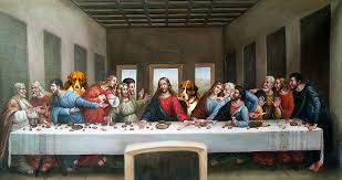if da vinci did to the last supper what george lucas has done to