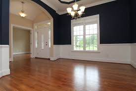 navy blue dining rooms. This Blue Formal Dining Room Opens To The Foyer And Living With Multiple Cut Out Openings Alternating White Bands Create Crisp Lines 6 Bedroom Home Raleigh Navy Rooms