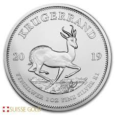 2019 South African Krugerrand Silver Monster Box