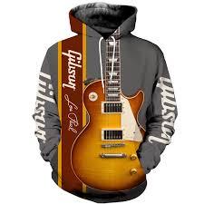 3d Printed Gibson Les Paul Design Clothes Qs1905