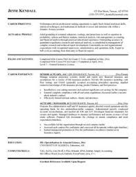 Actuary Resume Actuary Resume Resume Samples Across All Industries Pinterest 30