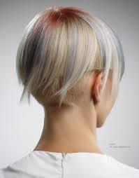Korte Haarsnit Met Een Extreme Ondersnit En Laagjes