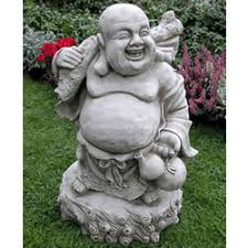 buddha garden statue.  Garden Image Of Jolly Buddha Garden Ornament  BD24 In Statue N