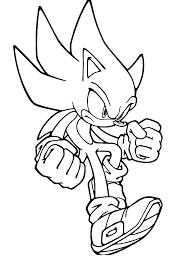 Sonic Coloring Page In Sonic Coloring Page Coloring Pages For Children