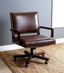 wooden swivel desk chair. Antique Office Chair Beautiful Desk Chairs Wood Trim Leather Wooden Swivel
