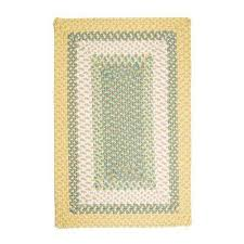 rectangle braided area rug