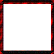 red and black animated square frame