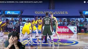 BUCKS at WARRIORS | FULL GAME HIGHLIGHTS | April 6, 2021! Reaction - YouTube