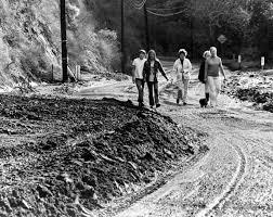 Historic Photos Of El Niños Soaking SoCal Over The Last 80 Years: LAist