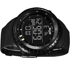 large led digital black outdoor sports watches mens large led digital black outdoor sports watches