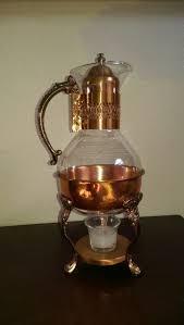 vintage glass coffee carafe