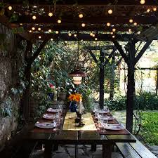 outside patio lighting ideas. outdoor lighting ideas dining table string lights mood decor outside patio t
