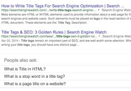 Writing A Title Page How To Write Meta Title Tags For Seo With Good And Bad