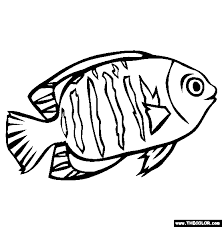 Small Picture Angel Fish Games Coloring Coloring Pages