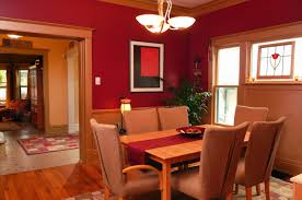 Fine Dining Room Paint Ideas With Accent Wall Interior Painting New Home Design Span Decorating