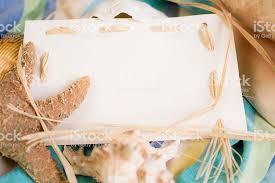 blank white beach towel. Blank, White Notecard With Seashells, Beach Blanket. Royalty-free Blank Towel