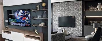Fireplace design with tv, modern living room design and decorating explore modern ways of hiding the tv on the wall additionally to traditional cabinets, curtains, and decorative screens. Top 70 Best Tv Wall Ideas Living Room Television Designs