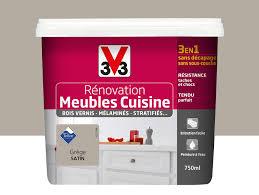 Peinture Rénovation Meubles De Cuisine V33 Grège 075l