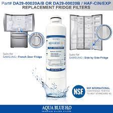 Fridge Filters Srf719dls Samsung Fridge Premium Replacement Water Filter Da29