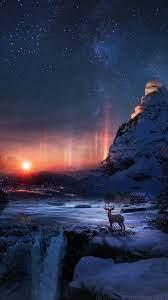 Iphone wallpaper sky, Night scenery ...