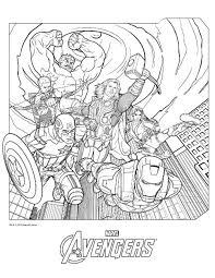 Avengers Disegni Da Colorare Idisegniit Az Colorare