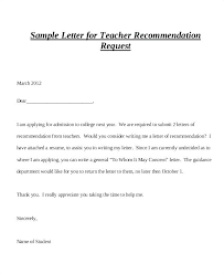 Writing A College Recommendation Letter For College Admissions College Letter Template Atlasapp Co