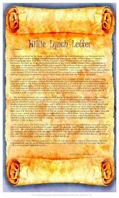 willie lynch letter no record of 1712 speech nuwla for willie lynch letter