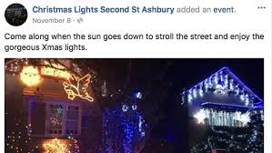 Sydney Streets With Christmas Lights Ashbury The Tiny Sydney Inner West Suburb Obsessed With