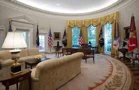 west wing oval office. The Newly Refreshed Oval Office Of White House Is Seen In Washington, Tuesday, West Wing