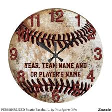 personalized cool rustic baseball senior night gift ideas or gifts for baseball team