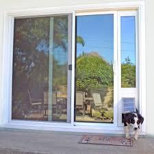 Sliding Glass Door With Pet Door Built In.Lowes Patio Doors With Dog ...