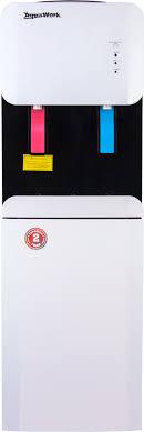 <b>Кулер</b> для воды <b>Aqua Work 105-LKR</b> бело-черный со шкафчиком ...