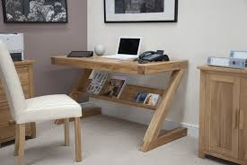 stylish home office desks. Stylish Home Office. Office Computer Desks Remarkable 15 Oak For Small Z Shape E