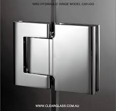 hydraulic hinges glass door closures